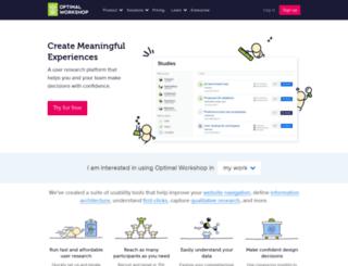 8shapes.optimalworkshop.com screenshot