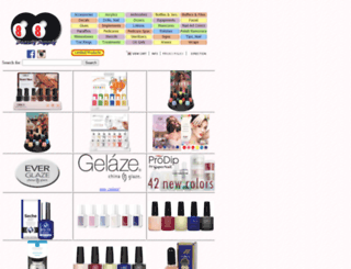 8ty8beauty.com screenshot