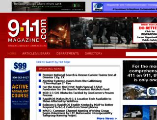 9-1-1magazine.com screenshot