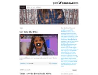 90swoman.wordpress.com screenshot
