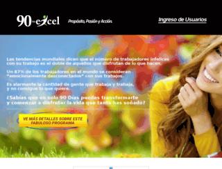 90toexcel.com screenshot