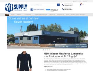 911supply.com screenshot
