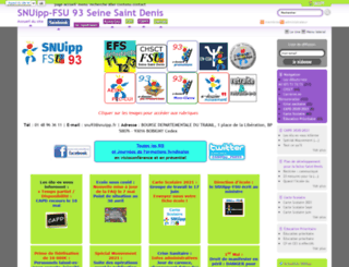 93.snuipp.fr screenshot