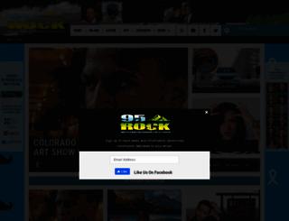 95rockfm.com screenshot