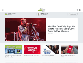 967kissfm.com screenshot