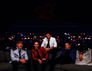 98degrees.com screenshot