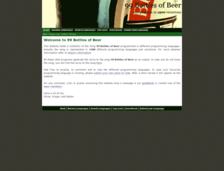 99-bottles-of-beer.net screenshot