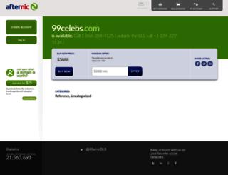 99celebs.com screenshot