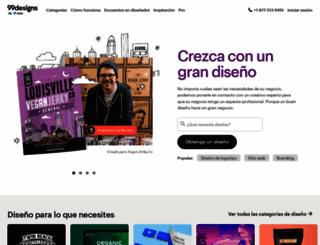99designs.com.mx screenshot