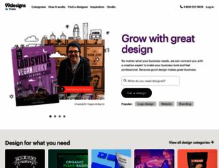 99designs.com screenshot