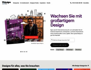 99designs.de screenshot