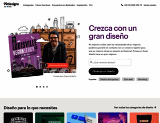 99designs.es screenshot