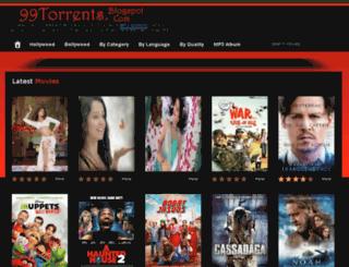 99torrents.blogspot.in screenshot