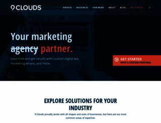 9clouds.com screenshot