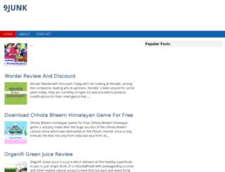 9junk.com screenshot
