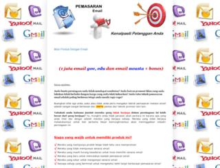 9jutaemail.blogspot.com screenshot