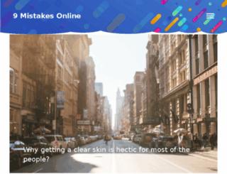 9mistakes-online.com screenshot
