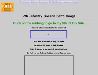 9thinfantry.bravepages.com screenshot