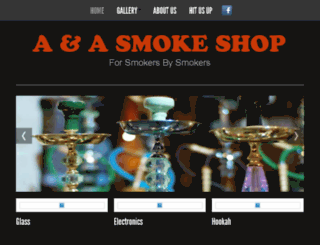 a-asmokeshop.com screenshot