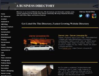 a-business-directory.intuitwebsites.com screenshot