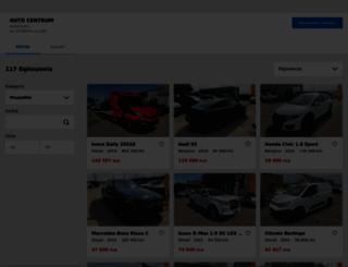 a-centrum.otomoto.pl screenshot