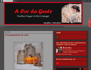 a-cor-da-gente.blogspot.com.br screenshot