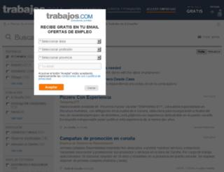 a-coruna.trabajos.com screenshot
