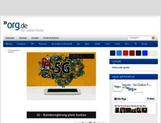 a-e-c.org.de screenshot