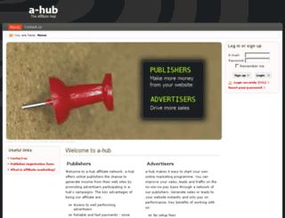 a-hub.co.uk screenshot