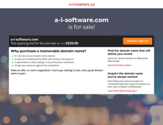 a-i-software.com screenshot
