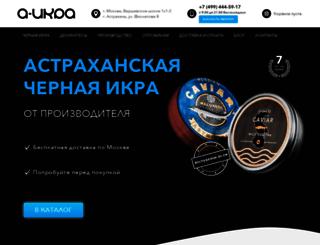 a-ikra.ru screenshot