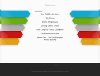 a-jur-kanzleisoftware.guide-to.us screenshot