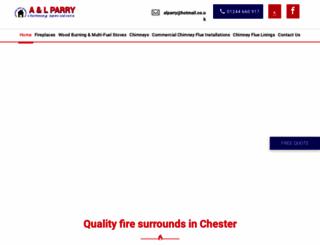 a-lparry.co.uk screenshot