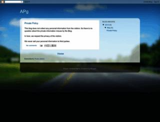 a-pg.blogspot.com screenshot