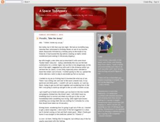a-space-toddyssey.blogspot.com screenshot