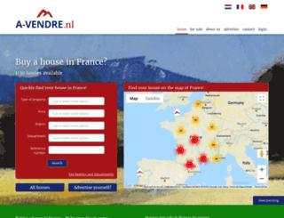 a-vendre.nl screenshot