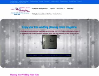 a-weddingday.com screenshot