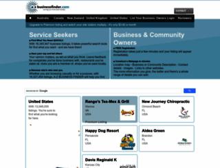 a-zbusinessfinder.com screenshot