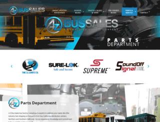 a-zbusparts.com screenshot