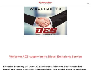 a-zemissions.com screenshot