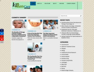 a-zhealthcareservices.com screenshot
