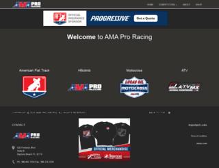 a.amaproracing.com screenshot