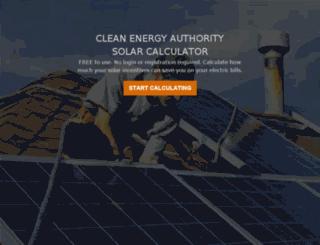a.cleanenergyauthority.com screenshot