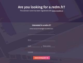 a.redm.fr screenshot