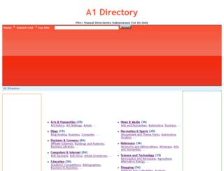 a1-directory.com screenshot