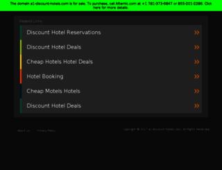 a1-discount-hotels.com screenshot