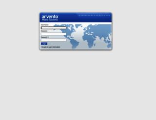 a19.arvento.com screenshot