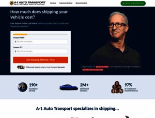 a1autotransport.com screenshot