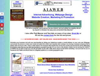 a1aweb.com screenshot