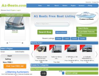 a1boats.co.uk screenshot
